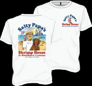 Salty Papa's Signature TShirt