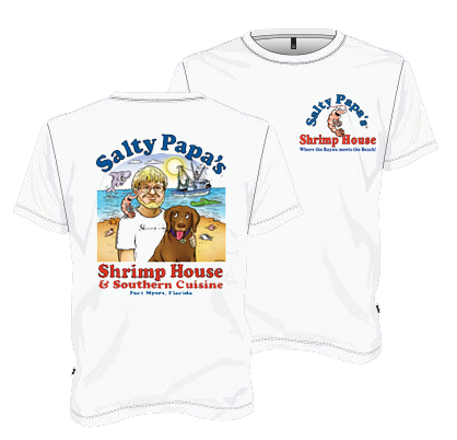 Salty Papas Signature TShirt